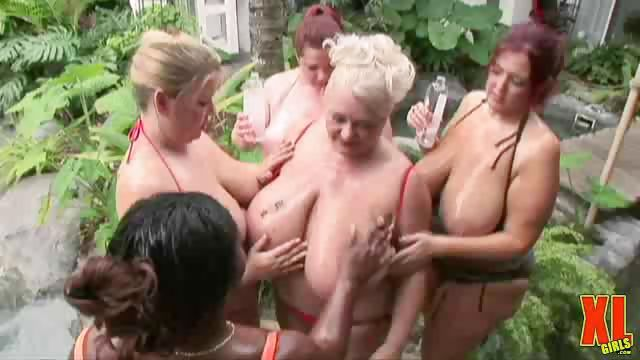 Porn Tube of Bikini-busting