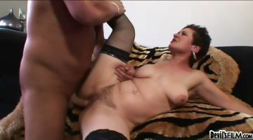 Porno Video of Your Mom's Hairy Pussy #12