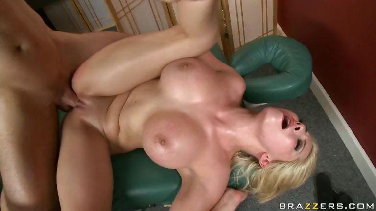 Porno Video of Chest Massage