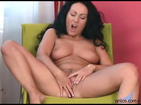 Porn Tube of Stunning Busty Mom Solo Striptease