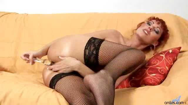 Porno Video of Redhead Milf Has A Lesbian Mature Girlfriend