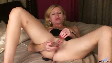 Porn Tube of Petite Milf Clit Slapping Dildo Fuck