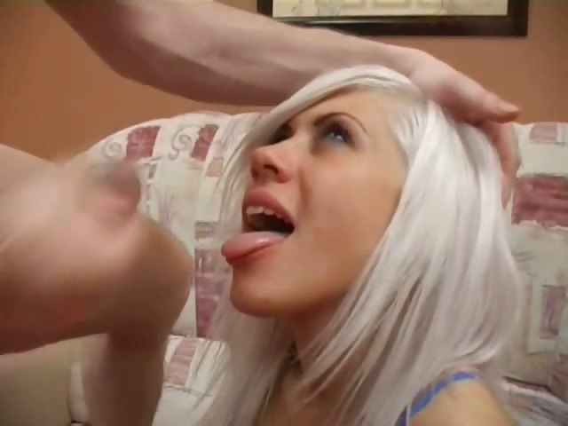Porno Video of Small Tits Teen Play With Big Dildo!