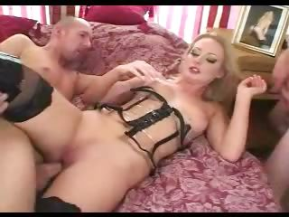 Porn Tube of Bitch In Black Boots Dp Party