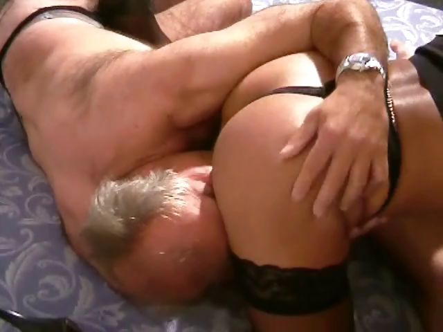 Porno Video of German Milf Squeezes Her Man's Balls And Bends Over For Him