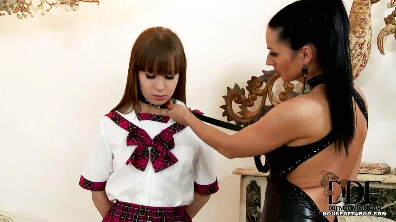 Porn Tube of School Girl Grace Gets Spanked