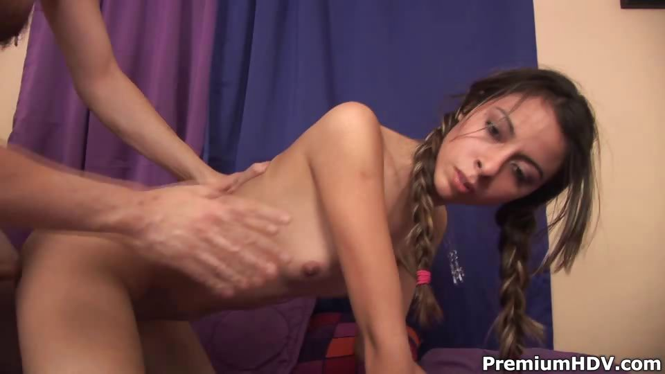Porn Tube of Sayra Von Gets Punished Gulping A Stick