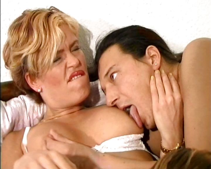 Porno Video of Two Young And Buff Guys Take On A German Milf's Wet Pussy