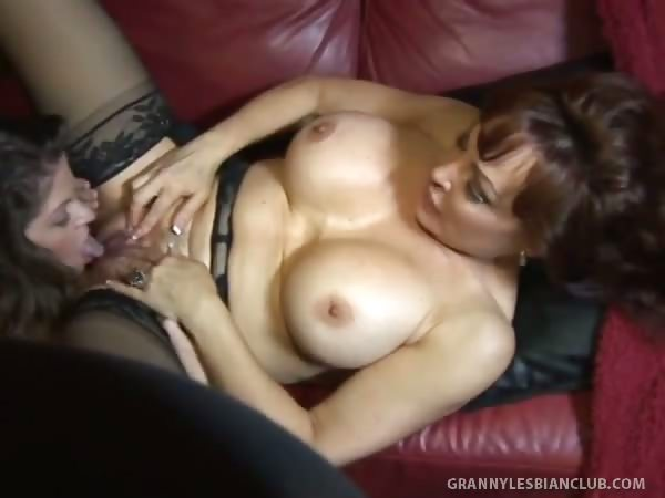 Porno Video of Best Damn Granny Titties Ever Seen On June And Vanessa