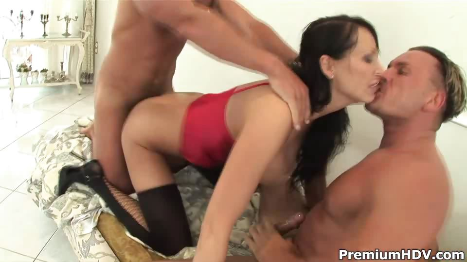 Porn Tube of Dp'ed In Orgy Horny Mom Mandy Bright