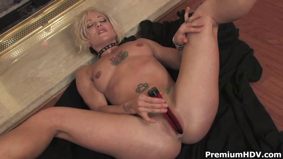Porn Tube of Blonde Mom Teasing And Striping