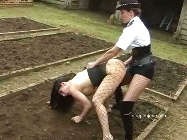 Porno Video of Police Strapon