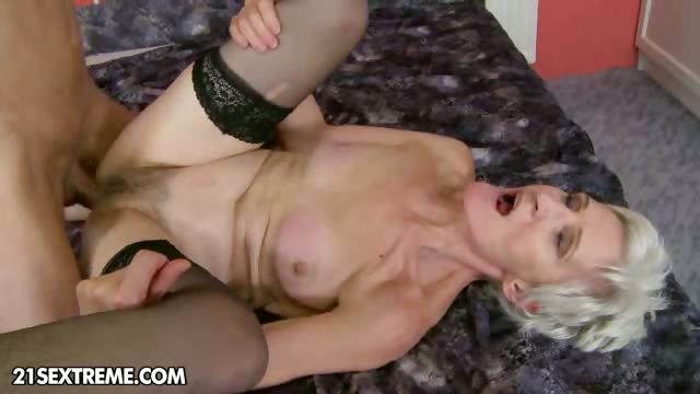 Porno Video of Grateful Granny