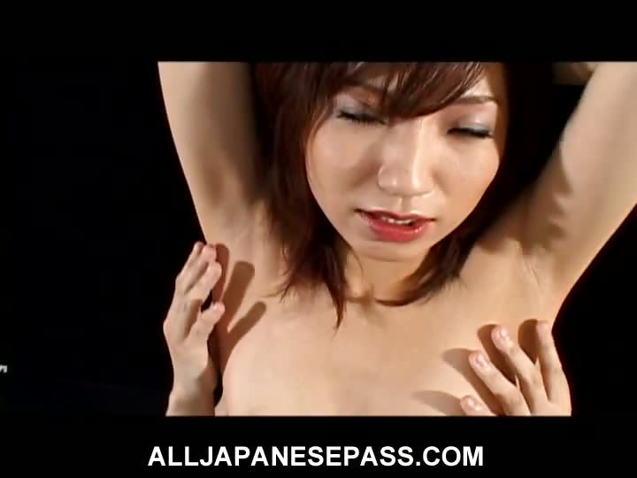 Porno Video of Airi Nakajima Is One Horny Wild Mature Honey In Red Latex