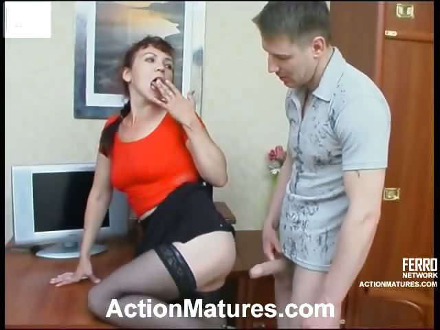 Porn Tube of Awesome Milf In Silky Stockings Getting To Love Fierce Pussy Exploitation