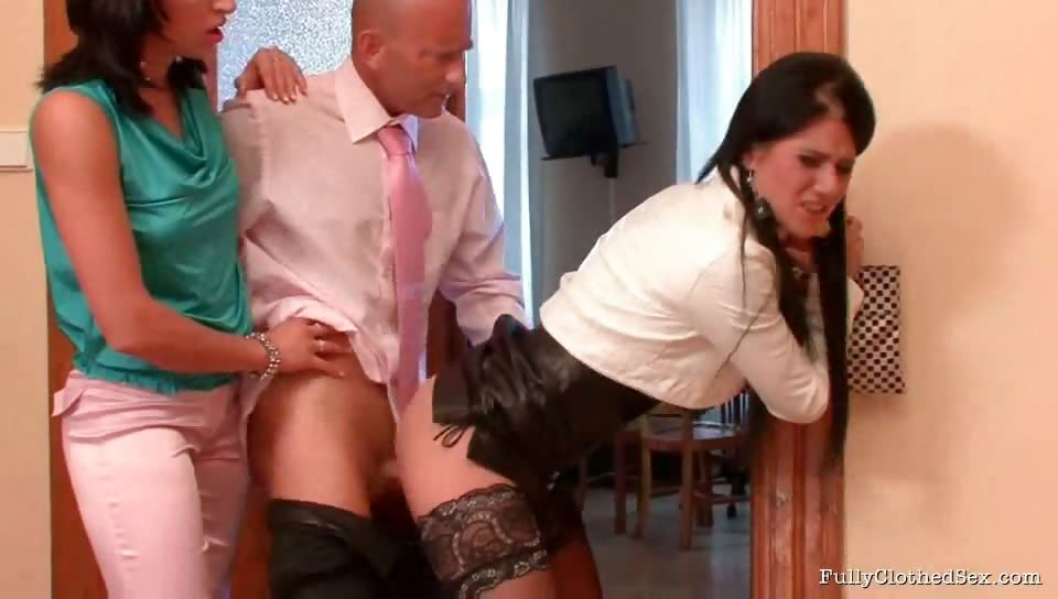 Porno Video of Lawyer Bob Has A Big Day At The Office Because He's Looking For Some New Secretaries For His Office. Leonelle Knoxville And Lucy Bell Have The Most Important Skill Any Good, Modern Secretary Should Have - The Ability To Make A Man Cum Anytime, Anywhere!