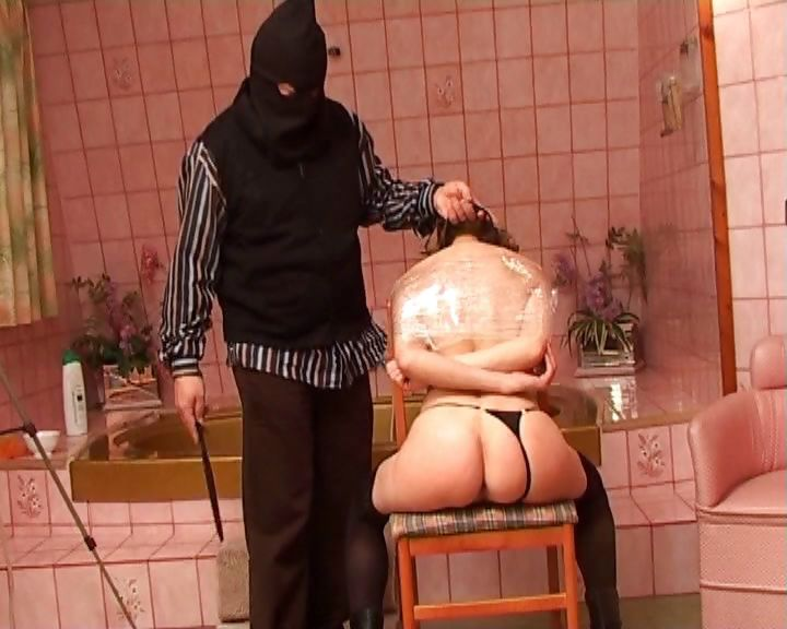 Porn Tube of Spanish Nympho Gets Dominated By A Sadistic Masked Master
