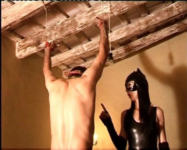 Porn Tube of Sexy Spanish Mistress Gives Her Bad Slave A Stern Talking To