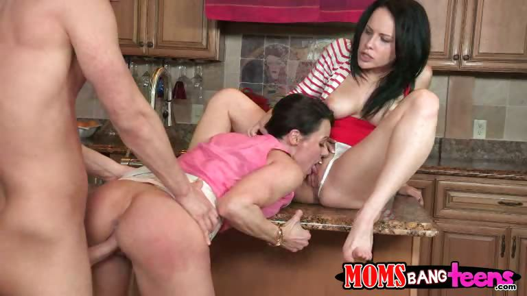 Porno Video of Katies Step Mom Eats Her Pussy While Her Boyfriend Pounds Her Step Moms Pussy From Behind.