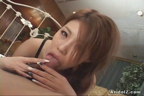 Porno Video of Busty Japanese Give A Perfect Handjob And Blowjob