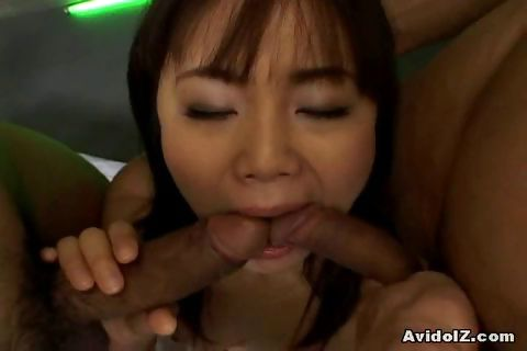 Porno Video of Sexy Japanese Bitch Makes A Sandwich With Two Horny Studs.