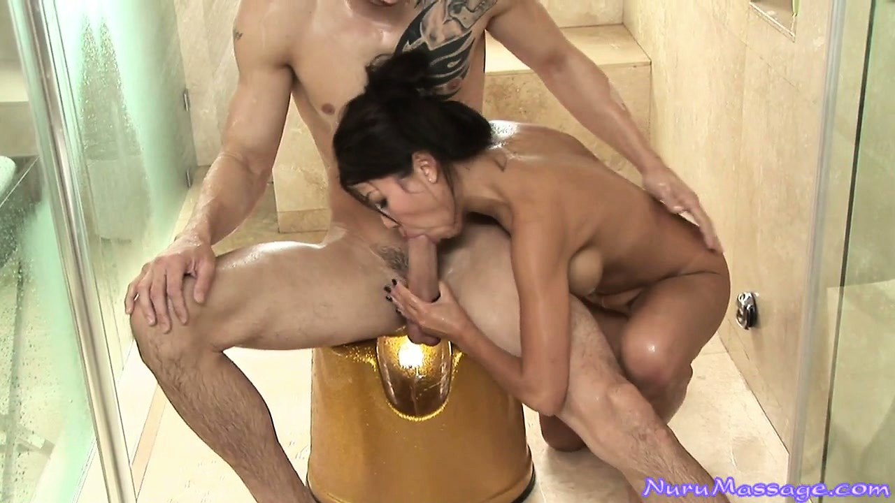 Sex Movie of Jackie Lin Jerking A Big Hard Cock And Sucking The Big Hard Dick