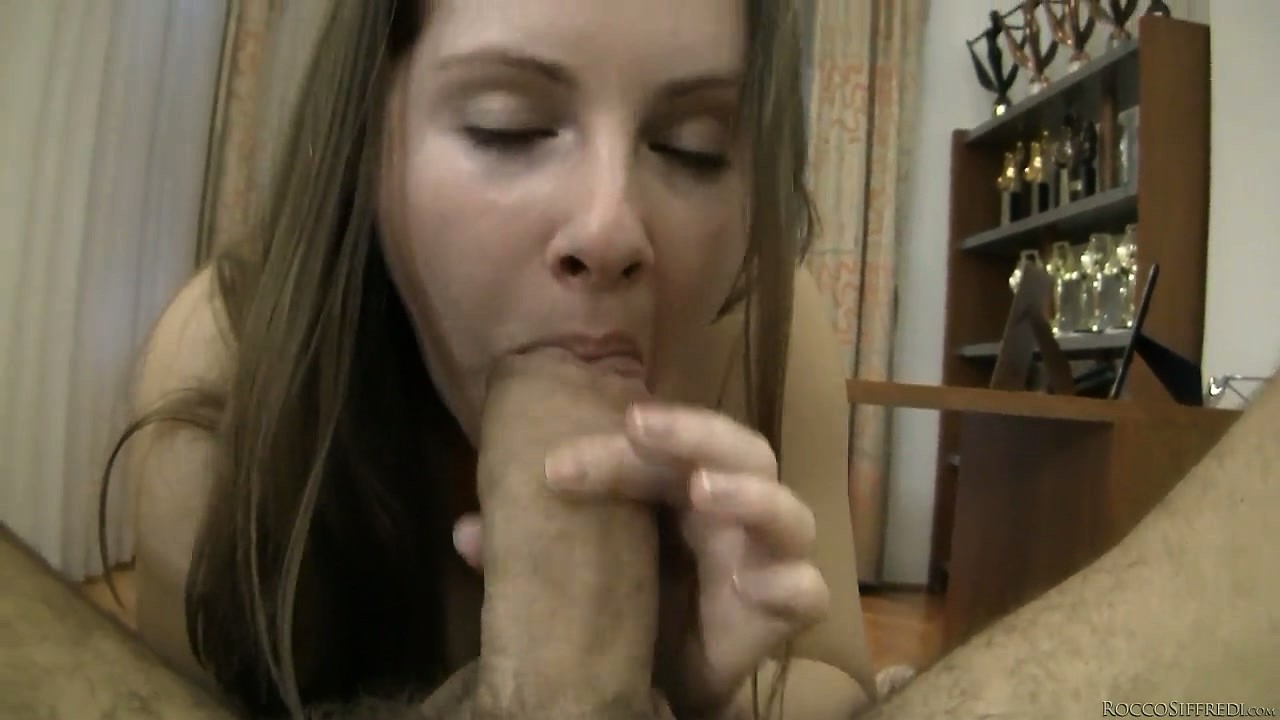 Porno Video of Teen Takes Rocco's Fat Dick Into Her Slick Cunt In A Pov Video