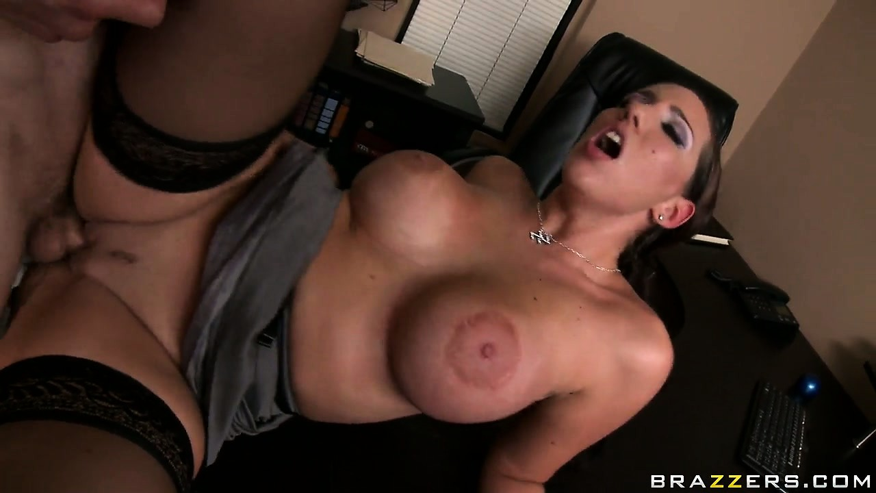 Porn Tube of It Pays To Be The Boss Cuz He Gets To Bone The Hot Brunette Secretary