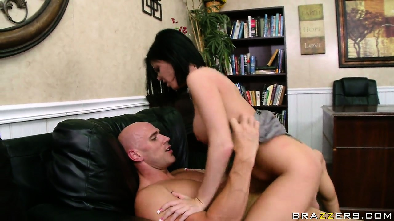 Porn Tube of Sexy Brunette Secretary With Perky Tits Turns The Boss On Daily