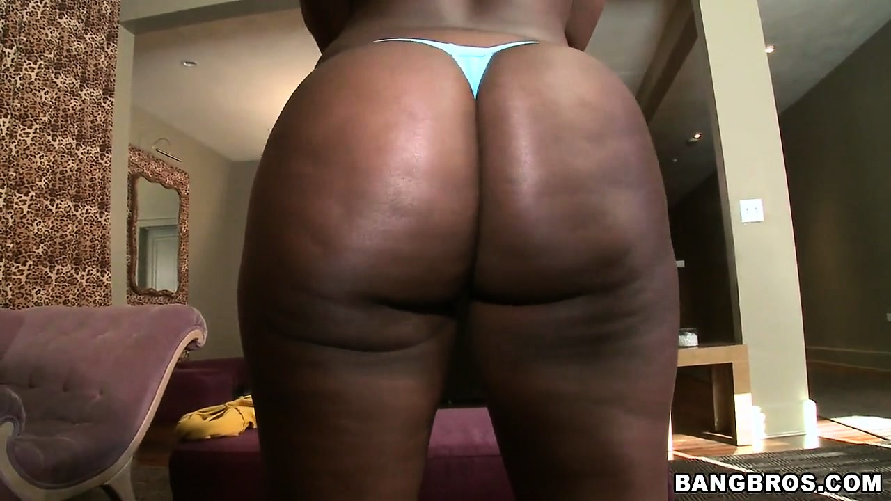 Porn Tube of Big Black Butt Chanel Poses That Ass Trying On Different Underwear