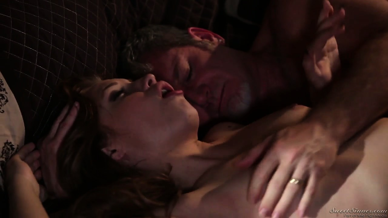 Sex Movie of Gorgeous Teen With An Adorable Slim Body And Small Tits Gets Fucked By An Older Guy