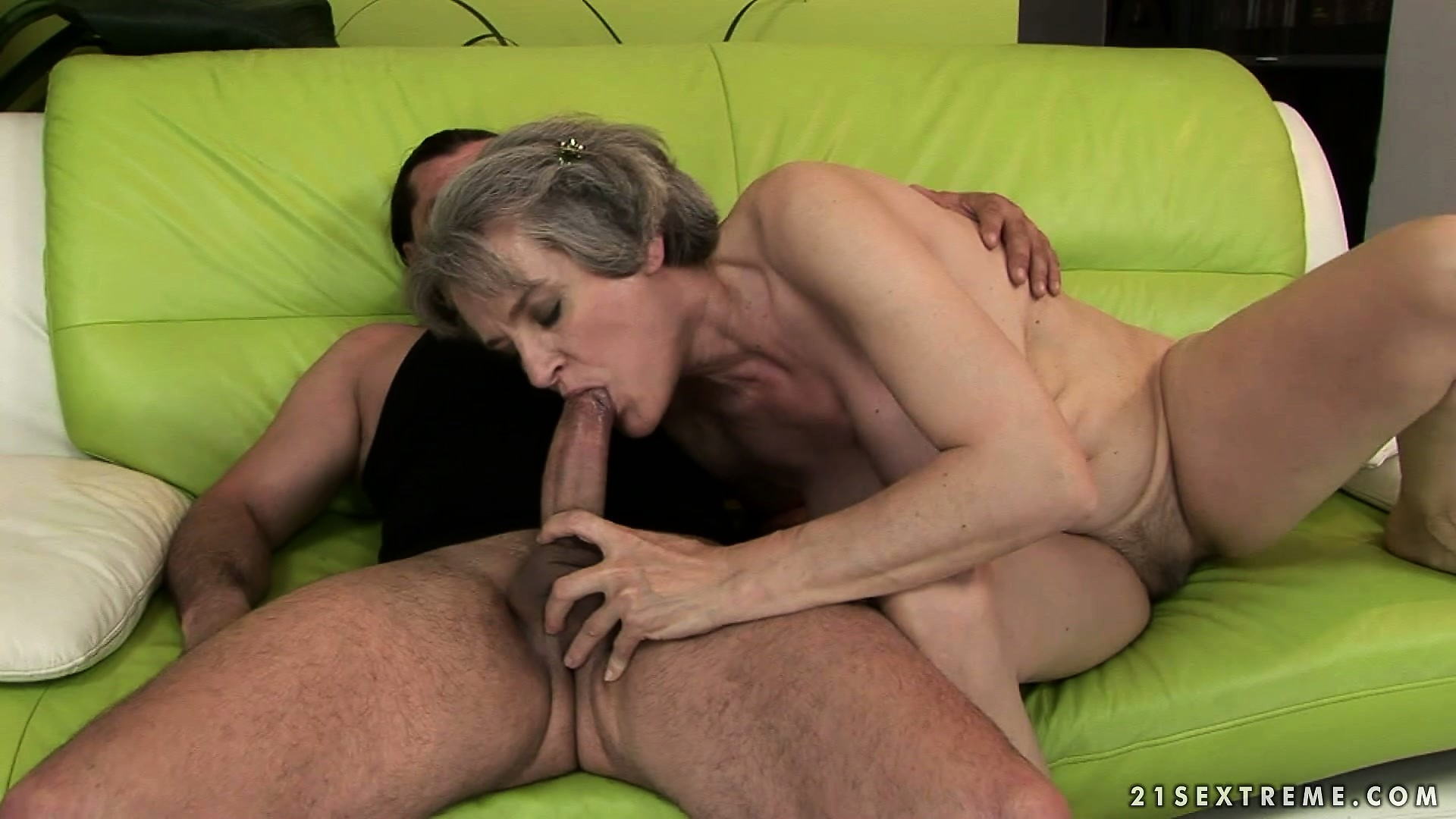 Porn Tube of Plumper Granny, Aliz, Bounces Her Big Saggy Tits As She Rides His Cock In Her Hairy Bush