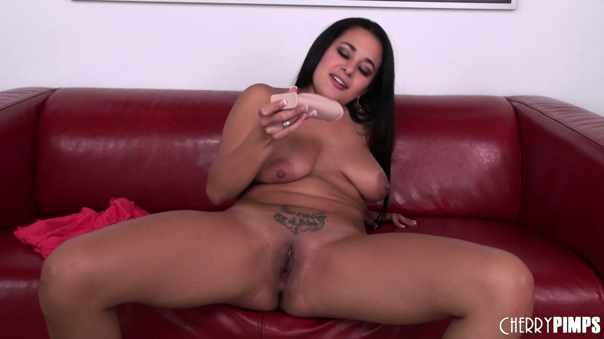 Porn Tube of Penelope Piper, A Sexy Brunette With Big Boobs And A Lustful Ass, Is One Horny Babe