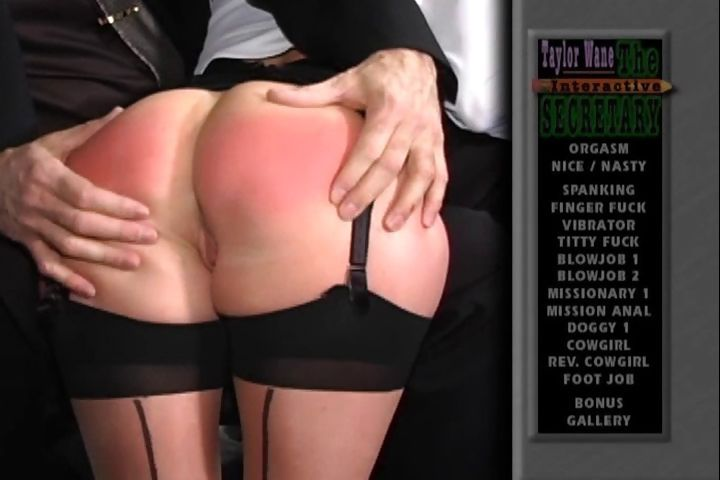 Porn Tube of Naughty Secretary Gets Her Perfect Ass Spanked By Her Boss