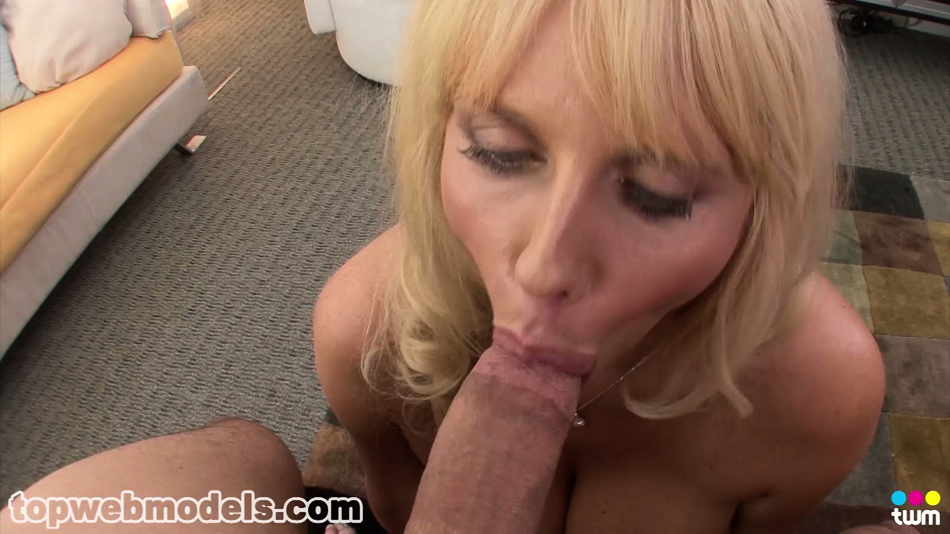 Sex Movie of Karen Fisher Uses Her Huge Tits And Lustful Lips To Drive That Shaft To Orgasm