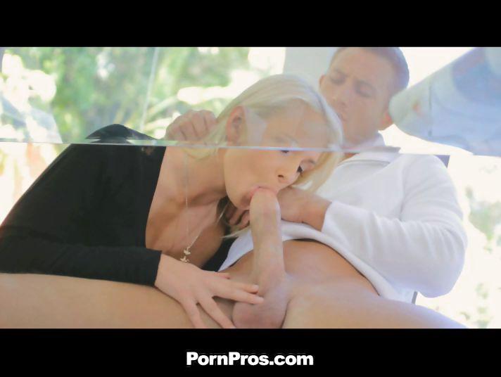 Porno Video of Ivana's Deep Felatio