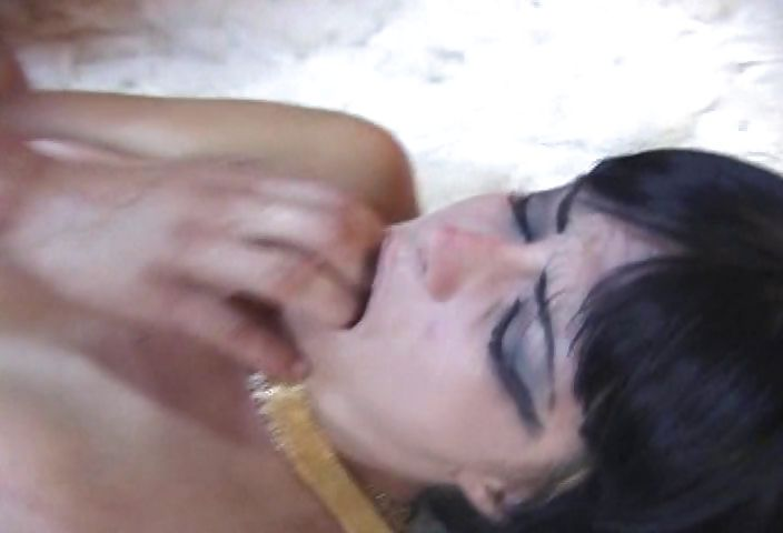 Porn Tube of Hot Brazilian Babe Roleplaying As A Slutty Egyptian Mistress