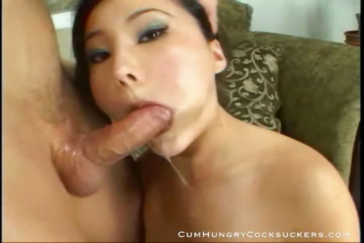 Porn Tube of Lacey Tom Big  Titty Asian Blowjob