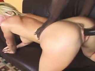 The Naughty Blonde Wants To Let The Thick Meat Stick This Black Chunk