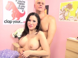 Stacked Brunette With Sensational Booty Aleksa Nicole Loves To Fuck