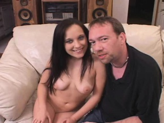 Beautiful Brunette With Nice Big Tits Gets Pumped Full Of Hard Cock