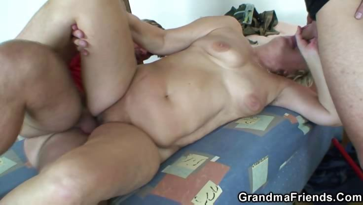 Porn Tube of Awesome Sex With Granny
