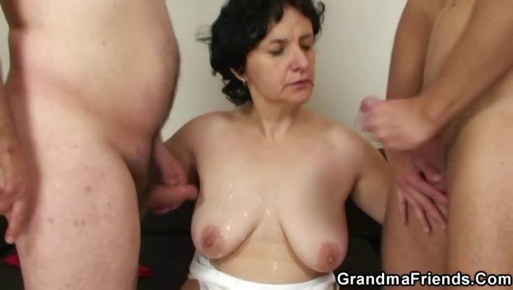 Porno Video of Mature Couple Brings In Young Man