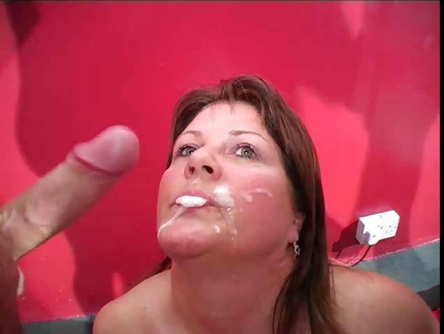 Porno Video of Sandy Bukkake