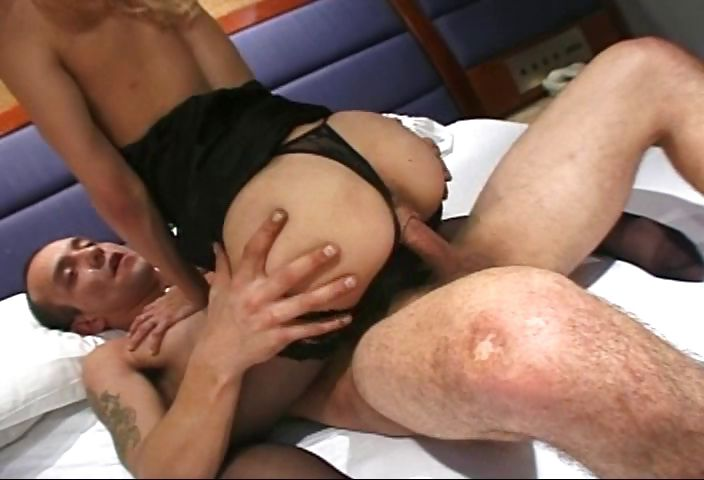 Porn Tube of Skinny Bitch In Stockings Loves The Feel Of A Man In Her Ass