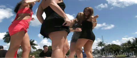 Porn Tube of Bikini Boat Bash