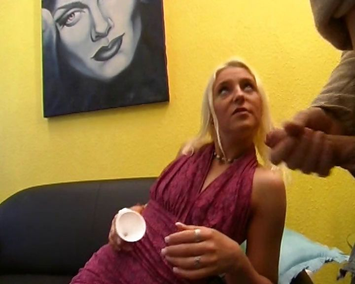 Porn Tube of Crazy European Bitch Empties Out A Condom And Drinks The Cum