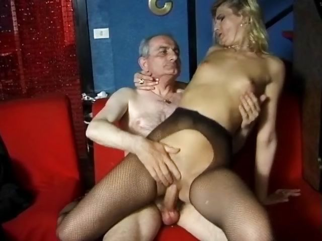 Porno Video of Skinny French Babe Loves To Suck And Fuck Old Men's Cocks