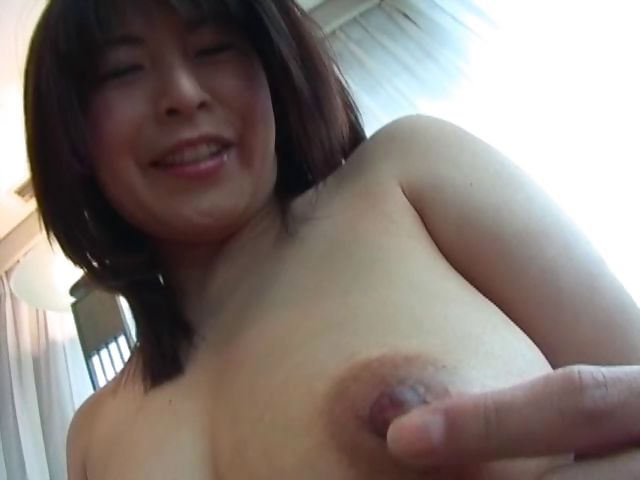 Porn Tube of Busty Japanese Housewife Gets Her Delicious Nipples Teased