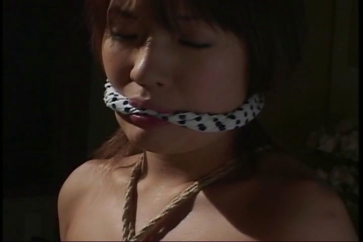 Porn Tube of This Cute Japanese Teen Poses In An Erotic Rope Bondage Film